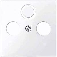 Капак за антена 2/3 отвора, Активно бяло