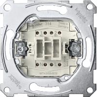 Механизъм за бутон-девиатор, с неутрална клема