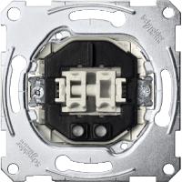 Механизъм за двоен бутон, нормално отворен с глим лампа