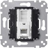 RJ12 механизъм за телефонна розетка, 6 Контакта