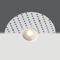 10101TR/W/W WHITE LED 1W WW IP44 350mA 45deg TRIMLESS DARK LIGHT