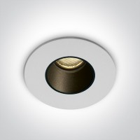 10102H/W/W WHITE LED 2W WW 700mA IP65 DARK LIGHT