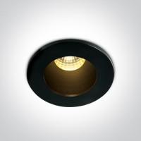10103DL/B/B/W BLACK/BLACK LED WW 1W/350mA 3W/700mA DARK LIGHT