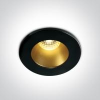10103DL/B/BS/W BLACK/BRASS  LED WW 1W/350mA 3W/700mA DARK LIGHT