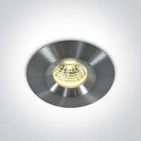 10103P/AL/W ALU LED WW 3W 700mA IP65