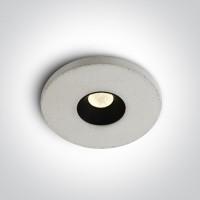 10104M/W STONE LED 4,5W WW IP20 230V DARK LIGHT