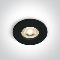 10105A1/B BLACK GU10 50W