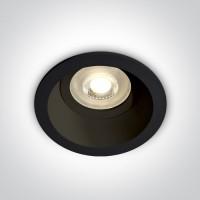 10105D4/B BLACK DARK LIGHT GU10 50W