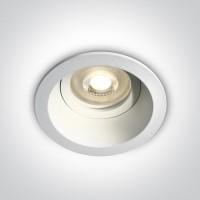 10105D4/W WHITE DARK LIGHT GU10 50W