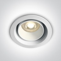10105D5/W WHITE DARK LIGHT GU10 50W