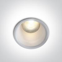 10105FD/W/W WHITE LED 5W WW 24deg IP20 230V DARK LIGHT