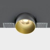 10105TR/BS BRASS TRIMLESS GU10 50W DARK LIGHT