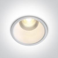 10110FD/W/W WHITE LED 10W WW 24deg IP20 230V DARK LIGHT