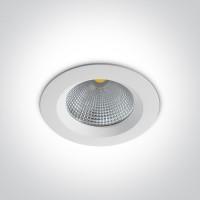 10120CA/W/C WHITE LED 20W CW IP20 60deg 230V