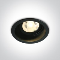 11106DB/B/W BLACK LED 6W WW 4deg 500mA ADJUSTABLE DARK LIGHT