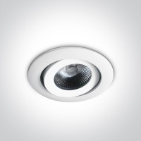 11106PF/W FIRE RATED LED 6W WW IP20 350mA 40deg WITHOUT RING
