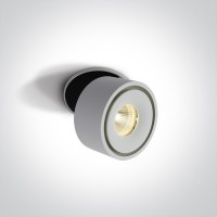 11108LA/W/W WHITE COB LED 8W WW IP20 230V