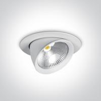11115F/W/C WHITE LED 15w CW 230v