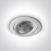 11130C/W/C WHITE COB LED 30w CW 38d + DRIVER 230v