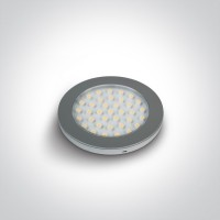 12122/G/W CABINET LIGHT 3W LED WW 24V DC
