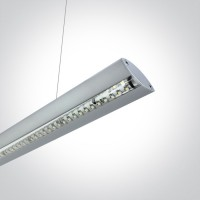 38016/G/W GREY PENDANT LED 16w WW