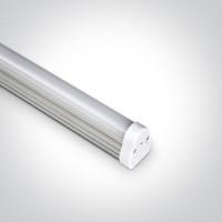 38115L/C LED TUBE 117cm 15w CW 100-240V