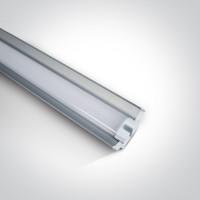 38136R/C LED 22w CW 100-240v SUPERMARKET LINEAR 120cm