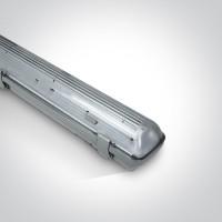 38158E IP65 FOR 1xT8 LED TUBE 1500mm PC/PC