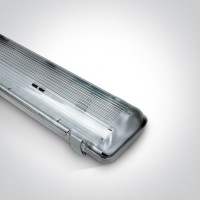 38218E IP65 FOR 2xT8 LED TUBE 600mm PC/PC