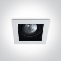 51112E/W/EW WHITE LED 12W WW IP20 700mA 40deg ADJUSTABLE SEMI DARK LIGHT