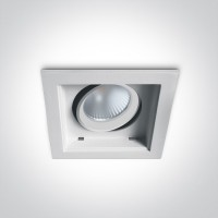 51112H/W/W WHITE LED 12W WW 60deg 100-240V ADJUSTABLE
