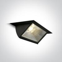 51140/B/W BLACK COB LED 40W WW 70deg 230V