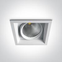 51140TR/W/W WHITE COB LED 40w WW 36d IP20 SEMI-TRIMLESS + DRIVER 230v