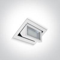 51145/W/W WHITE LED 45W WW 95deg 230v