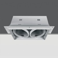 51200TR/W WHITE 2L TRIMLESS BOX