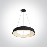 62180NB/B/W BLACK PENDANT LED 80W WW IP20 230V