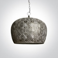 63052 ANTIQUE ORIENTAL PENDANT E27 40W
