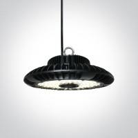 63200F/C BLACK LED SMD 200W UFO CW IP65 100-240V
