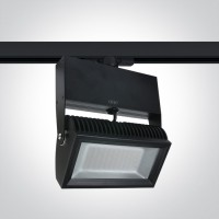 65042T/B/W BLACK LED 42w WW TRACK SPOT 80deg 230v