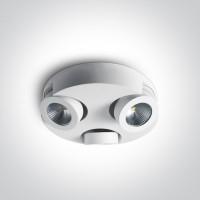 65110E/W/W WHITE LED 3x10W WW IP20 ADJUSTABLE 230V