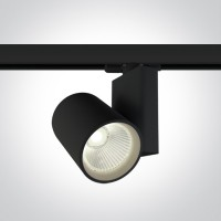 65612NT/B/C BLACK COB LED 30W CW TRACK SPOT 230V
