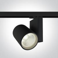 65614NT/B/C BLACK COB LED 42W CW TRACK SPOT 230V