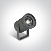 67196A/AN/W ANTHRACITE GARDEN SPOT LED 3W WW 35deg IP65 100-240V