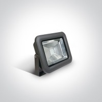 7028A/AN/RGB ANTHRACITE LED 10w RGB FLOODLIGHT + REMOTE IP65 100-240V