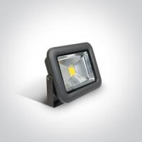 7028AB/AN/C ANTHRACITE COB LED 20W CW IP65 100-240V
