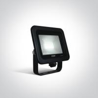 7028CA/B/C BLACK LED 10W CW IP65 AC 230V