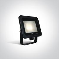 7028CA/B/W BLACK LED 10W WW IP65 AC 230V