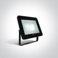7028CC/B/C BLACK LED 50W CW IP65 AC 230V