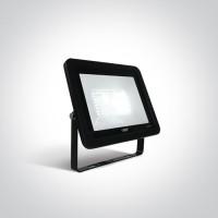 7028CC/B/D BLACK LED 50W DL IP65 AC 230V