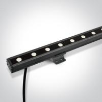 7055B/C GREY LED 24x1w CW 20x60deg LENS IP66 24v DIMMABLE